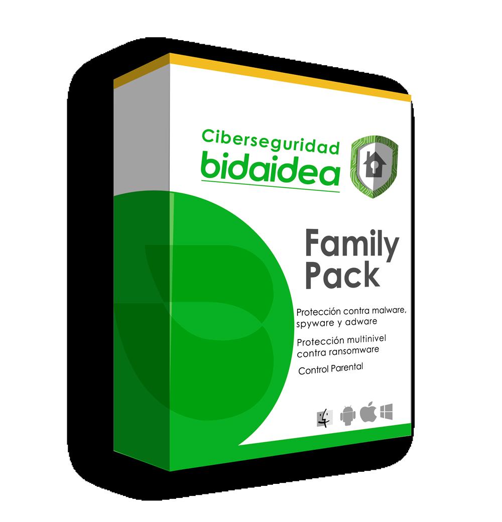Antivirus bidaidea family pack