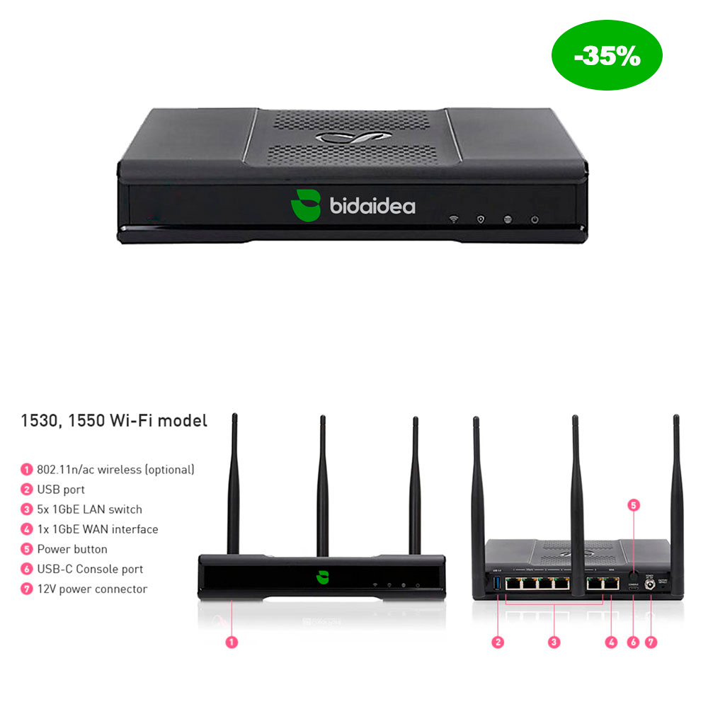 firewall security box bidaidea - Empresa de Ciberseguridad