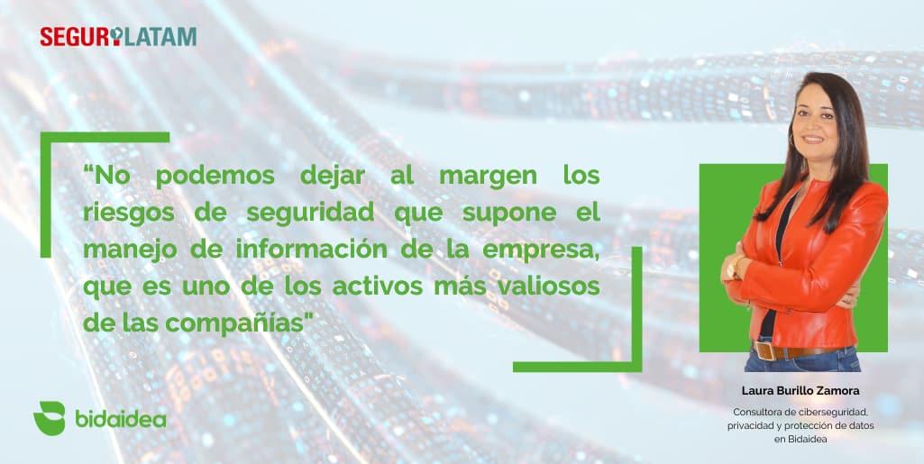 Laura Burillo - Bidaidea Ciberseguridad